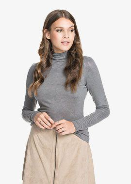 VMLOIS ROLL NECK TOP A